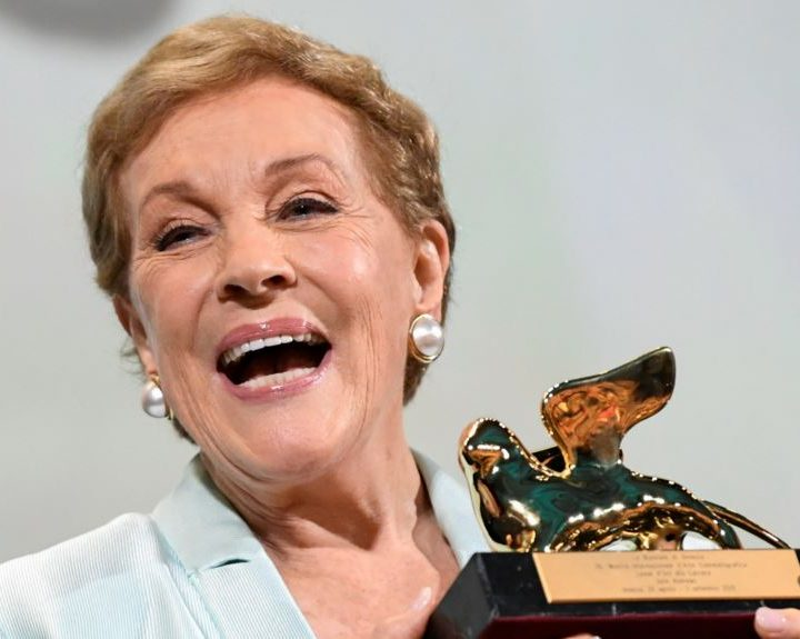 León de Oro para Julie Andrews estrella de «Mary Poppins»